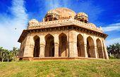 Tomb of Mohammed Shah, Lodhi Gardens, New-Delhi