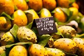pic of siddhartha  - A photo of Cactus fruits on a market - JPG