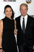 LOS ANGELES - SEP 28:  Linda Lowy, Jeff Perry at the Grey's Anatomy 200th Show Party at The Colony o