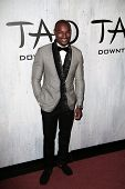 NEW YORK-SEP 28: Model Tyson Beckford attends the grand opening of TAO Downtown at the Maritime Hotel on September 28, 2013 in New York City.