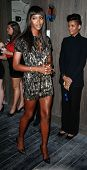 NEW YORK-SEP 28: Supermodel Naomi Campbell attends the grand opening of TAO Downtown at the Maritime