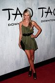 NEW YORK-SEP 28: Actress Katrina Bowden attends the grand opening of TAO Downtown at the Maritime Ho