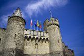 Het kasteel van Steen. Antwerpen