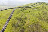 Hadrian's wall, Northumberland, England