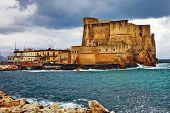 Castel dell'Ovo. Naples, Italy