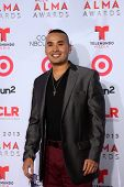 LOS ANGELES - SEP 27:  Jovanny Venegas at the 2013 ALMA Awards - Arrivals at Pasadena Civic Auditori