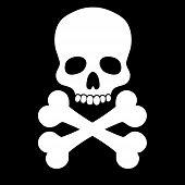 Skull weiß