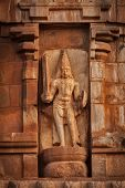 foto of great living chola temples  - Ancient bas relief - JPG