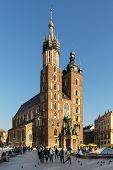 Church St. Mary's In Krakow, Lesser Poland.