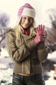 Girl Ready For Winter