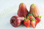 Strawberries And Rose Apple