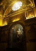 Statue Of St. Helen, Basilica Santa Croce In Gerusalemme, Rome, Italy