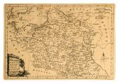 Old Map Of Poland.