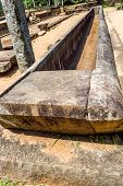 Rock Medicine Bed At Anuradhapura Ancient City Sri Lanka