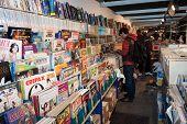 Comics On Display At Cartoomics 2014 In Milan, Italy