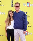 LOS ANGELES - NOV 17:  Aaron Sorkin & Roxy Sorkin arrives to the P.S. Arts Express Yourself 2013  on