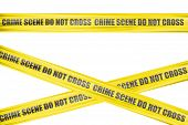 Crime scene cordon tape
