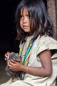 Wiwa Indian Girl