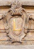 Decoration Detail Facade In Prague