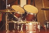 picture of drum-set  - Drum set - JPG