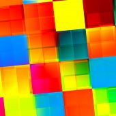 Subdivided Colorful Tiles