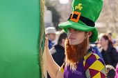St. Patrick's Day In Bucharest, Romania.