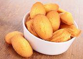 madeleine, cookies