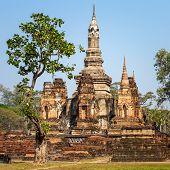 Wat Mahathat temple, Sukhothai Historical Park, Thailand
