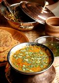 Gatte Ki Sabzi - a vegetable dish from India