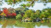 Mirror Pond at Kinkaku-ji temple in Kyoto