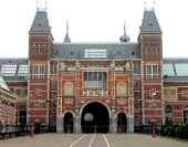 Rijksmuseum in Amsterdam. The Netherlands