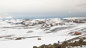 Hrafntinnusker Hut, Landmannalaugar Trail, Laugavegurinn, Iceland