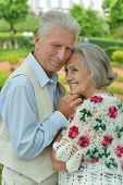 Lovely happy mature couple