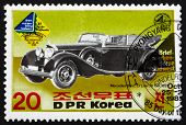 Postage Stamp North Korea 1985 Mercedes Benz Type W150, 1937