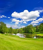 Golf Course European Landscape