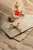 Old Letters, Postcards And Vintage Things