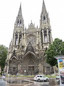 Church Of St. Ouen In Rouen City, France