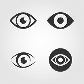 image of  eyes  - Vector eps - JPG