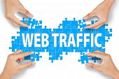 Web Traffic Management Concept