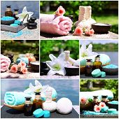 Spa remedies collage