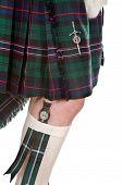 Scottish Knife And Tartan