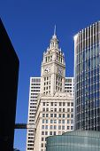 Chicago Wrigley Building And Skyscrapers