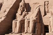 picture of north sudan  - The Great Temple of Abu Simbel on the border of Egypt and Sudan - JPG
