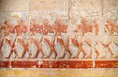 image of hatshepsut  - The Mortuary Temple of Queen Hatshepsut Egypt.