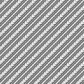 Design Seamless Monochrome Diagonal Pattern