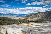 Mammoth Hot Springs,