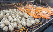 Grill Shrimp And Shellfish