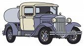 Old tank truck
