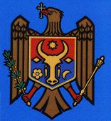 National Emblem. Republic of Moldova.