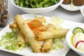 Lebanese cheese rolls - rkakat